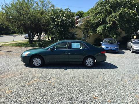 2003 Honda Accord for sale at Simple Auto Solutions LLC in Greensboro NC