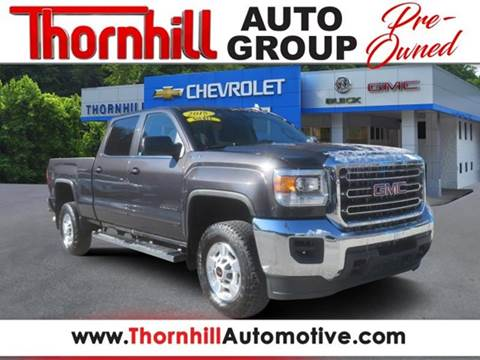 2015 GMC Sierra 2500HD for sale in Logan, WV
