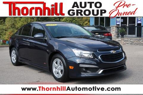 2016 Chevrolet Cruze Limited for sale in Logan, WV