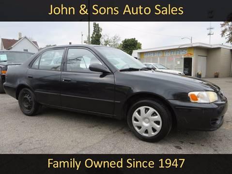 2002 Toyota Corolla for sale in Grand Rapids, MI