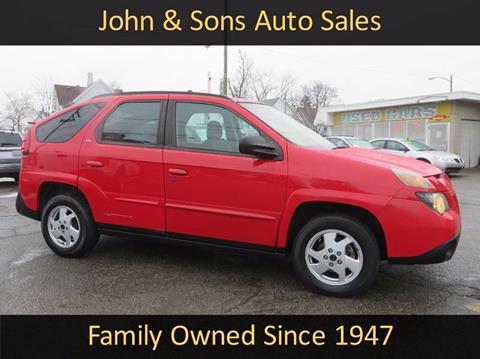 2002 Pontiac Aztek for sale in Grand Rapids, MI