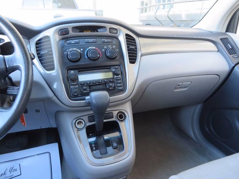 2001 Toyota Highlander AWD 4dr SUV - Grand Rapids MI