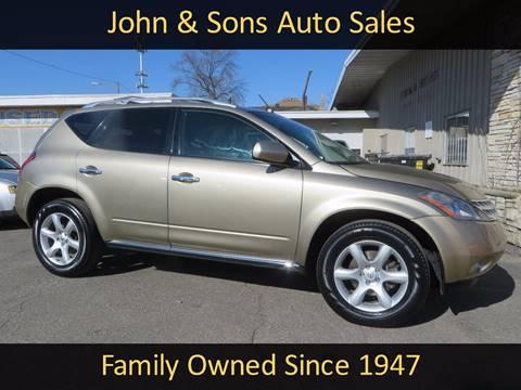 2007 Nissan Murano for sale in Grand Rapids, MI