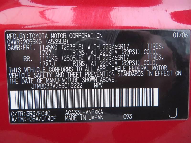 2006 Toyota RAV4 4dr SUV 4WD - Grand Rapids MI