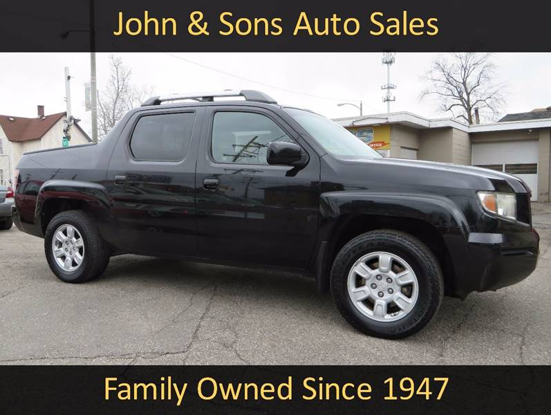 2006 Honda Ridgeline AWD RTL 4dr Crew Cab w/Moonroof and XM - Grand Rapids MI