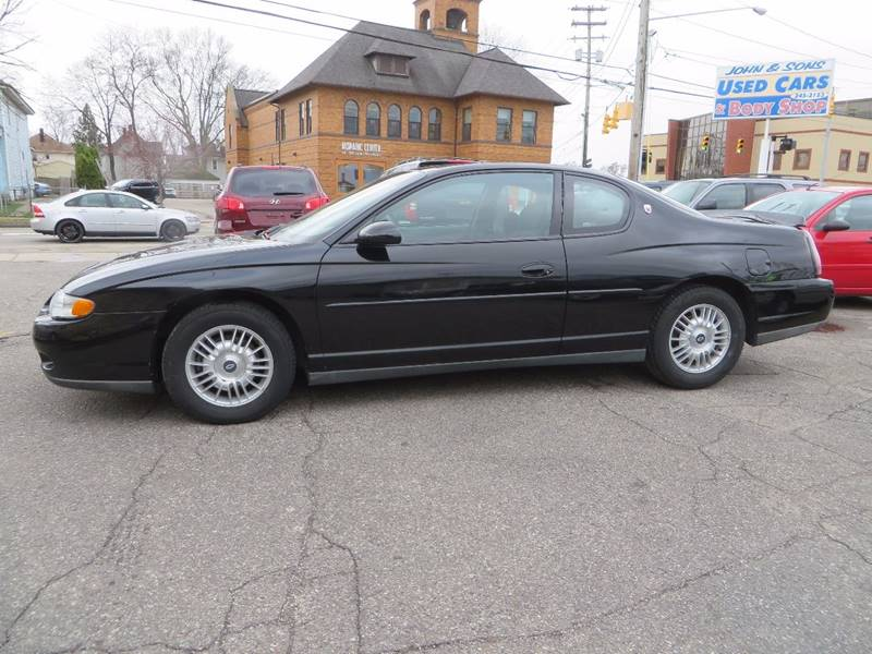 2001 Chevrolet Monte Carlo LS 2dr Coupe - Grand Rapids MI