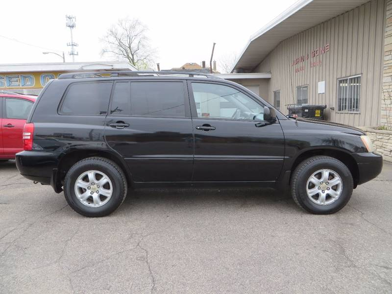 2003 Toyota Highlander AWD 4dr SUV V6 - Grand Rapids MI