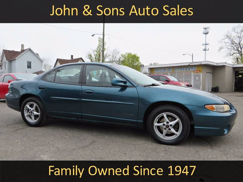 2003 Pontiac Grand Prix SE 4dr Sedan - Grand Rapids MI