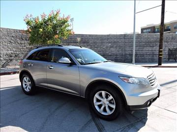 2004 Infiniti FX35 for sale in North Hollywood, CA