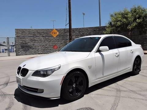2008 BMW 5 Series for sale at Good Vibes Auto Sales in North Hollywood CA