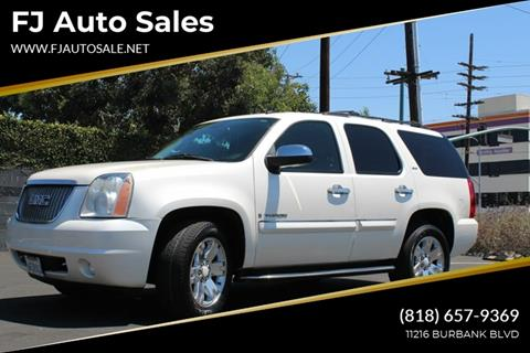 2008 GMC Yukon for sale at Good Vibes Auto Sales in North Hollywood CA