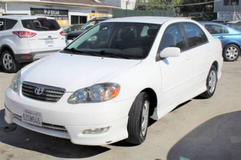 2007 Toyota Corolla for sale at Good Vibes Auto Sales in North Hollywood CA