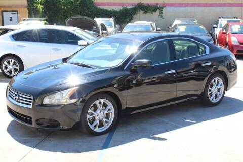 2012 Nissan Maxima for sale at Good Vibes Auto Sales in North Hollywood CA
