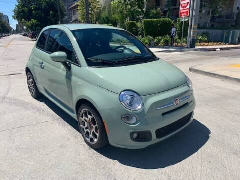2012 FIAT 500 for sale at Good Vibes Auto Sales in North Hollywood CA