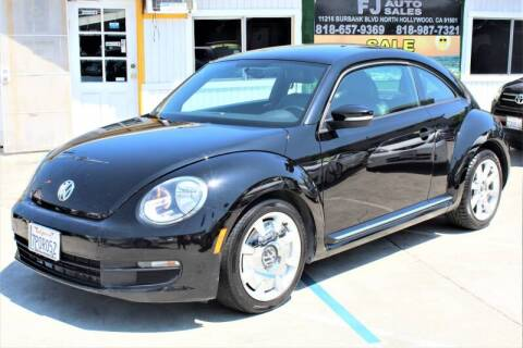 2012 Volkswagen Beetle for sale at Good Vibes Auto Sales in North Hollywood CA