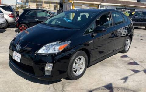 2010 Toyota Prius for sale at Good Vibes Auto Sales in North Hollywood CA
