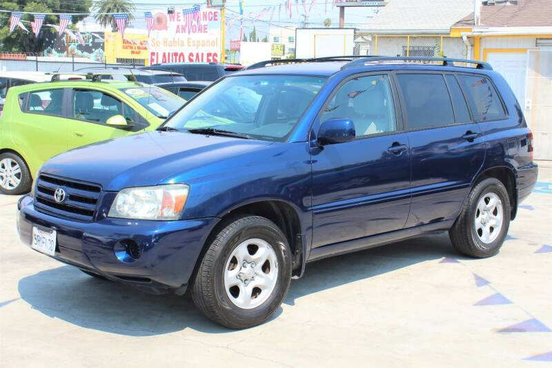 2006 Toyota Highlander for sale at Good Vibes Auto Sales in North Hollywood CA
