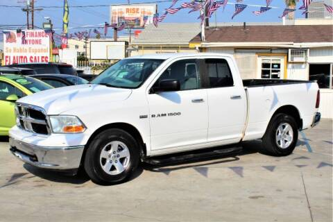 2012 RAM Ram Pickup 1500 for sale at Good Vibes Auto Sales in North Hollywood CA