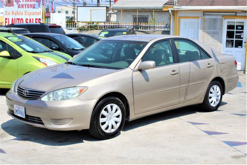 2005 Toyota Camry for sale at Good Vibes Auto Sales in North Hollywood CA