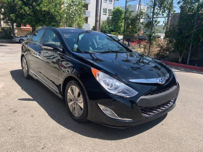 2014 Hyundai Sonata Hybrid for sale at Good Vibes Auto Sales in North Hollywood CA