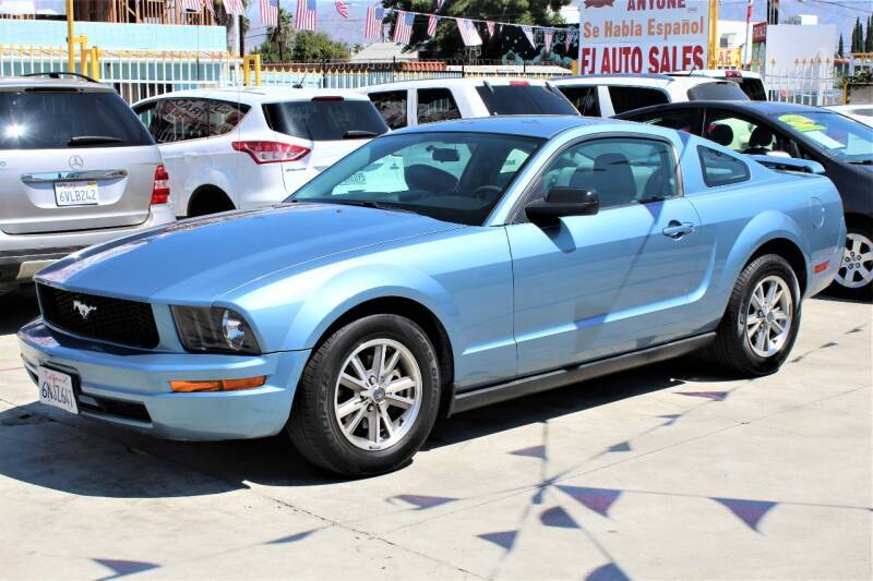 2005 Ford Mustang for sale at Good Vibes Auto Sales in North Hollywood CA