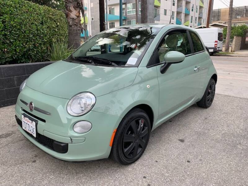 2013 FIAT 500 for sale at Good Vibes Auto Sales in North Hollywood CA