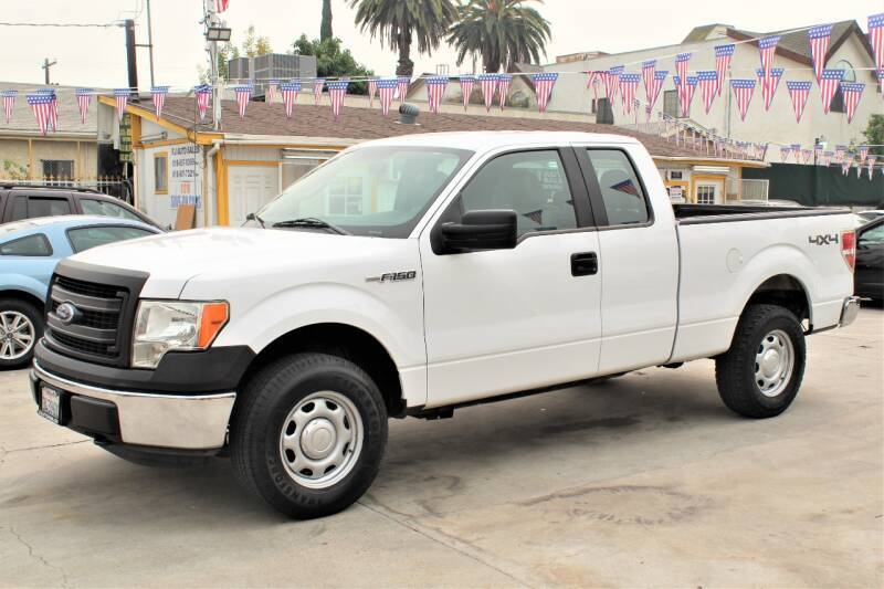 2014 Ford F-150 for sale at Good Vibes Auto Sales in North Hollywood CA