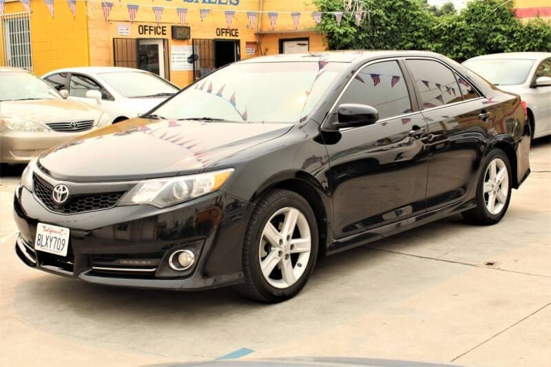 2014 Toyota Camry for sale at Good Vibes Auto Sales in North Hollywood CA