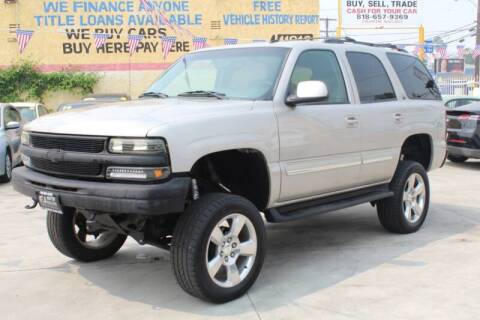 2006 Chevrolet Tahoe for sale at Good Vibes Auto Sales in North Hollywood CA