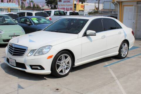 2010 Mercedes-Benz E-Class for sale at Good Vibes Auto Sales in North Hollywood CA