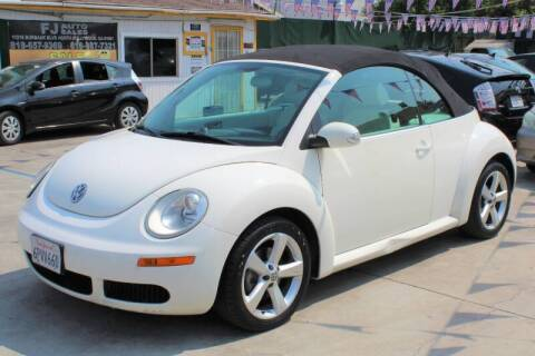 2007 Volkswagen New Beetle Convertible for sale at Good Vibes Auto Sales in North Hollywood CA