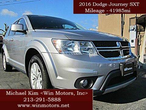 2016 Dodge Journey for sale at Win Motors Inc. in Los Angeles CA