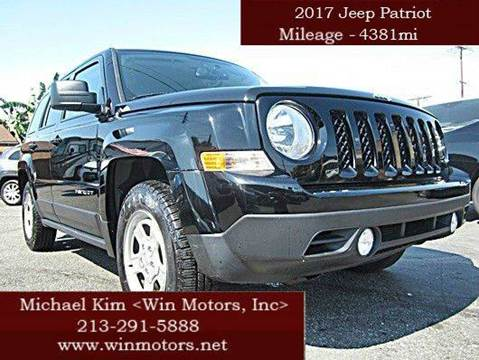 2017 Jeep Patriot for sale at Win Motors Inc. in Los Angeles CA