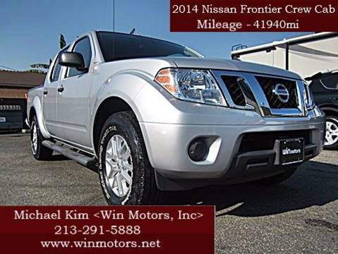2014 Nissan Frontier for sale at Win Motors Inc. in Los Angeles CA