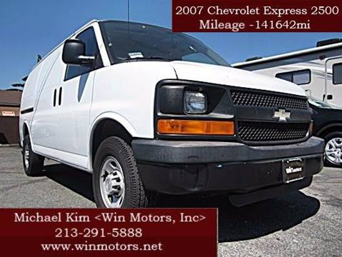 2007 Chevrolet Express Cargo for sale at Win Motors Inc. in Los Angeles CA