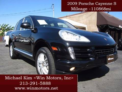 2009 Porsche Cayenne for sale in Los Angeles, CA