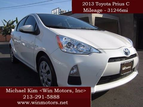 2013 Toyota Prius c for sale in Los Angeles, CA