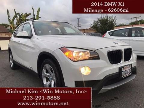 2014 BMW X1 for sale at Win Motors Inc. in Los Angeles CA