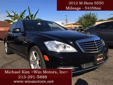 2012 Mercedes-Benz S-Class for sale in Los Angeles, CA