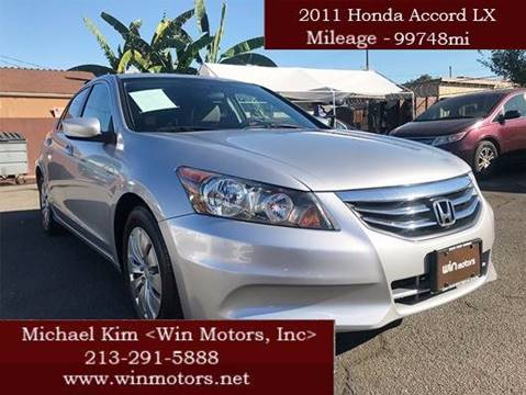 2011 Honda Accord for sale at Win Motors Inc. in Los Angeles CA