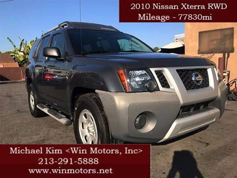 2010 Nissan Xterra for sale at Win Motors Inc. in Los Angeles CA