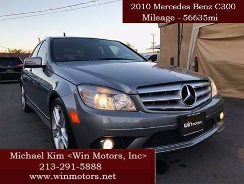 2010 Mercedes-Benz C-Class for sale at Win Motors Inc. in Los Angeles CA