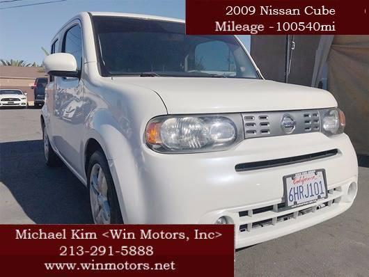 2009 Nissan Cube Krom 4dr Wagon In Los Angeles Ca Win Motors Inc