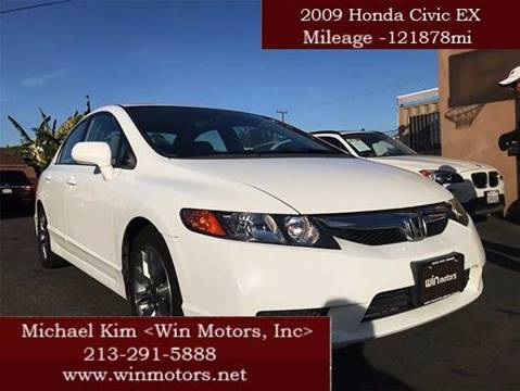 2009 Honda Civic for sale at Win Motors Inc. in Los Angeles CA