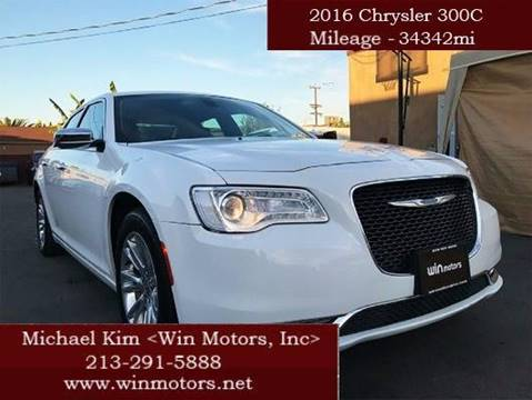 2016 Chrysler 300 for sale at Win Motors Inc. in Los Angeles CA