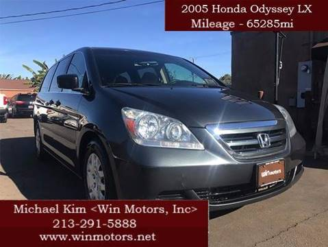 2005 Honda Odyssey for sale at Win Motors Inc. in Los Angeles CA