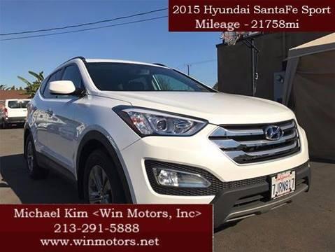2015 Hyundai Santa Fe Sport for sale at Win Motors Inc. in Los Angeles CA