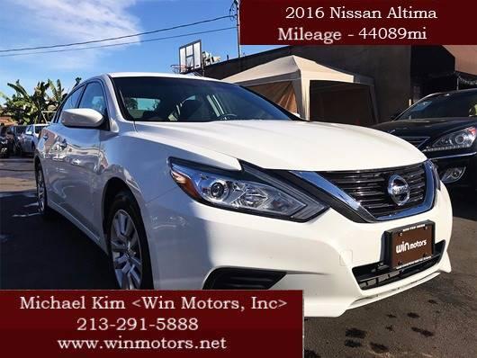 2016 Nissan Altima 2 5 S 4dr Sedan In Los Angeles Ca Win