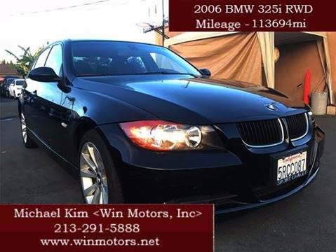 2006 BMW 3 Series for sale at Win Motors Inc. in Los Angeles CA