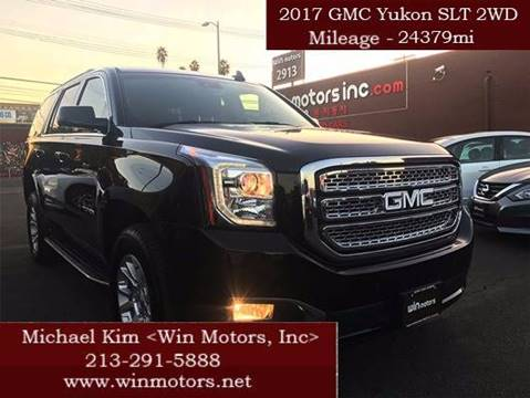 2017 GMC Yukon for sale at Win Motors Inc. in Los Angeles CA